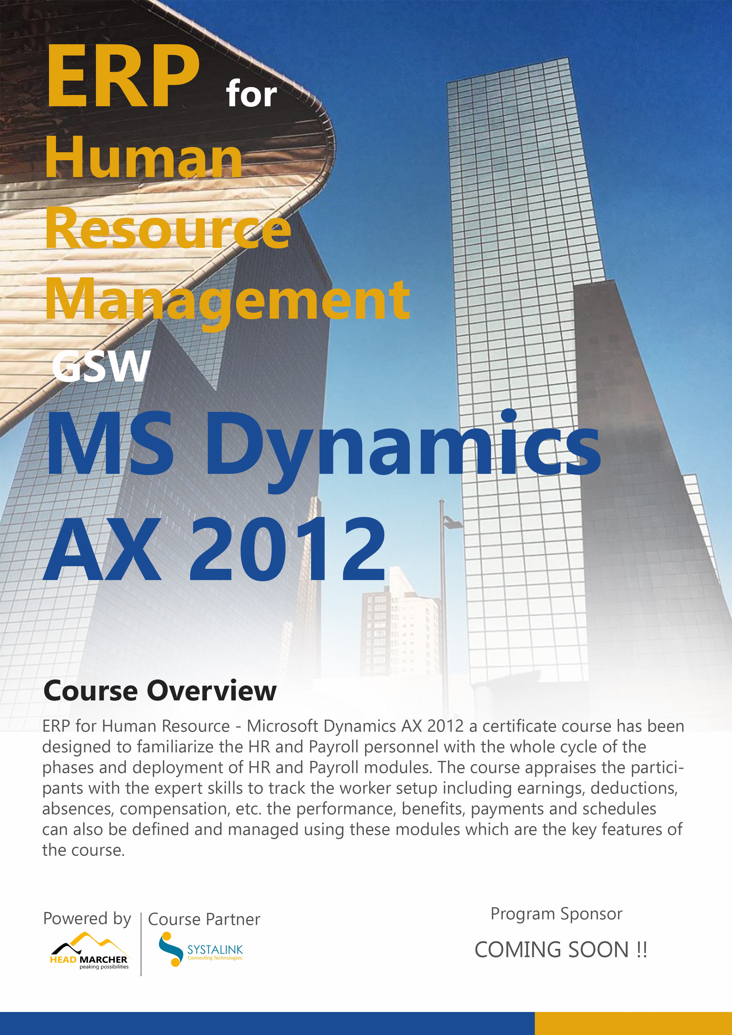 Erp for hrm getting started with ms dynamics ax 2012 event details 1betcityfo Gallery